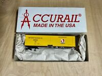 Ho Scale Accurail Rath 40' Wood Reefer Car #163