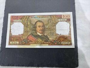 BILLET de 100 FRANCS CORNEILLE 1968 BANQUE DE FRANCE