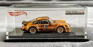 Hot Wheels TOY FAIR 2016 Gold Porsche 934 Turbo RSR
