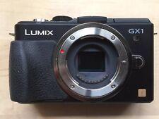 Panasonic LUMIX DMC-GX1 16.0MP Digital Camera (Body Only) - For Parts