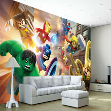 Avengers Lego Heroes Wallpaper Wall Mural Photo Bedroom Child Room Nursery mo