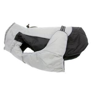 Doggie Design Alpine All-Weather Dog Coat - Black and Gray   XS-5XL