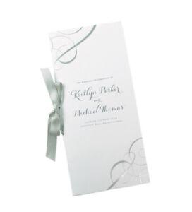 Wedding Collection Gartner Studios Program Kit Silver Foil Swirl