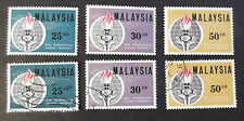 MALAYSIA MINT AND USED SET