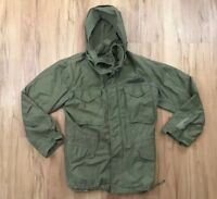 Vtg 70's US ARMY Cold Weather OD Field Jacket OG  8405 782 2936 Sz Regular Small