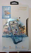 OEM LifeProof Nuud Waterproof Case for Apple iPhone 5C Glacier, White
