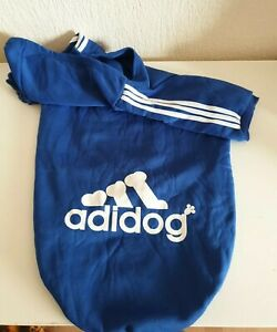 Adidog Blue Hoodie 7XL BNWoT Birmingham City Leicester City Cardiff City Dog Kit