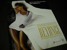 BEYONCE Redefines Superstardom SEXY Promo Display Ad mint condition