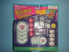 TYCO KITCHEN LITTLES FINE DINING DINNERWARE SET *NEW*