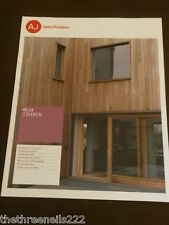 AJ SPECIFICATION - TIMBER - MAY 2011