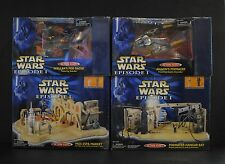 Star Wars TPM Action Fleet Sebulba Anakin Podracer Hangar Bay Mos Espa Market