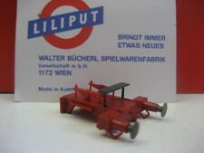 LILIPUT # 442130 Pufferbohle BR42 BR52 Barrenrahmen rot kpl. mit Puffer