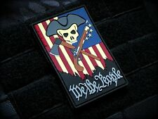 We The People Classic 3D PVC Patch Morale American Patriot 2A III% 1776 MoeGuns