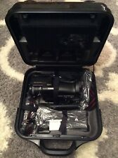 Vtg Sharp Vc-C50Ua Camcorder With Battery, Charger, Accessories & Hard Case