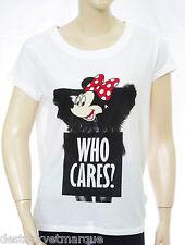 ELEVEN PARIS Minnie Tee shirt femme TS Dimini white blanc 14F2LT084