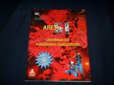 AREA 51 UNIVERSAL KIT-Atari w/ SCHEMATICS-Orig. Manual-L@@K!