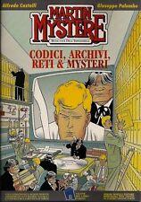 MARTIN MYSTERE: CODICI ARCHIVI RETI & MISTERI Bonelli Scarabeo 1996 COME NUOVO
