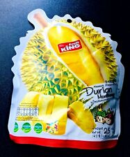 NEW Fruit KING Dried Durian Thai Snack Health Party Halal KOSHER Lots 3 x 25g