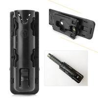 Expandable ASP Baton Holder Swivelling Pouch Case Holster Plastic+Nylon Black