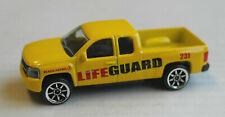 Majorette Chevy Chevrolet Silverado Pickup Truck gelb Lifeguard Beach Patrol Car