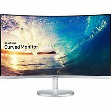 """Samsung CF591 27"""" Widescreen LED LCD Gaming Monitor - Silver"""
