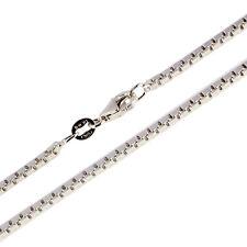 Silber Kette Silberketten Venezianerkette 925er Sterlingsilber 1,9 mm rhodiniert