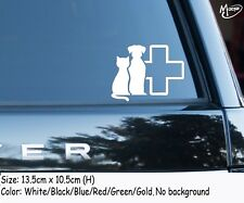 VET Car Sticker Reflective Veterinary symbol wall stickers decals best gifts3