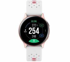 SAMSUNG Galaxy Watch Active2 Golf Edition - Pink Gold, Aluminium, 40 mm - Currys
