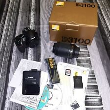 Kit Cámara Reflex DLSR Nikon D3100 + AF-S 55-200m VR