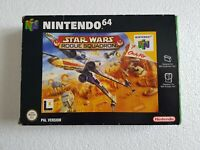 Star Wars Rogue Squadron - Nintendo 64 N64 Game [PAL UKV] CIB Boxed with manual
