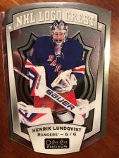 2016-17 UD Opee Chee Platinum NHL Chest Crest Henrik Lundqvist Pack Fresh