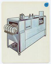 Vtg 1966 Peabody Language Development Kit Card# T-19 mechanical Dishwasher