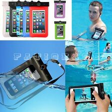 Phone Mobile Universal Water pouch Case Cover 100% Waterproof Bag Sleeve Holder