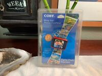 """Coby Digital Photo Keychain HOLDS 120 Color Pics Display 1.5"""" New Sealed DP161"""
