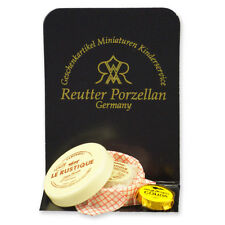 REUTTER PORZELLAN francese formaggio/FRENCH CHEESE Assortimento puppenstube 1: