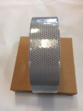 """CONSPICUITY TAPE 2""""X150 FT SILVER HIGH INTENSITY REFLECTIVE SAFETY TRUCK TRAILER"""