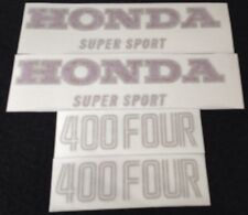 HONDA CB400 FOUR BLUE MODEL TANK  AND SIDE COVERS DECALS KIT