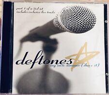 DEFTONES - My Own Summer (Shove It) [Part 1] Single + 3 Live Tracks (CD, 1998)