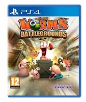 Worms: Battlegrounds (PS4 PLAYSTATION 4 VIDEO GAME) *NEW/SEALED* FREE P&P