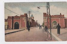 K 842 - Peking, Eingang zum Gesandtschaftsviertel, gelaufen 1913