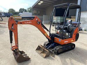 2006 Kubota Kx36-3 1.5 Ton Mini Digger Excavator 2 Buckets No Vat Low Hours
