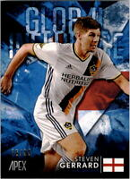 2016 Topps Apex MLS Global Influence Blue #GISGE Steven Gerrard /99