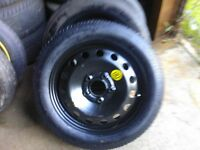 """2010 To 2015 Dacia Duster Space Saver Spare Wheel 16"""" Tyre +Jack & Wheel Spanner"""
