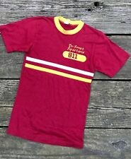 Vintage 1970's DeSmet Spartans Athletic T Shirt School shirt S