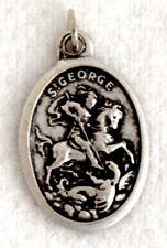 ST GEORGE Catholic Saint Medal patron leprosy plague soldiers boy scouts sheep