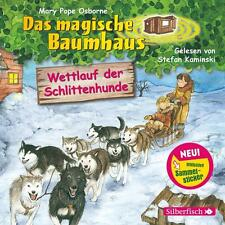 Wettlauf der Schlittenhunde: 1 CD (Das magische Baumhaus, Band 52) - CD NEU