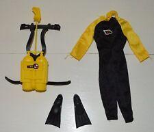 Tenue Outfit vêtement Attaque sous marine BIG JIM Vintage Commando Condor MATTEL