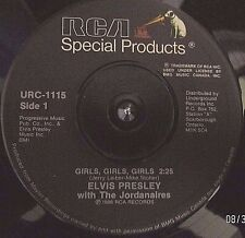 Elvis Presley-Girls, Girls, GirlsSpinout Orig.RCA Special Products'86 Canada(M)