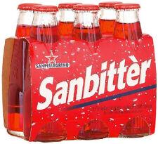24 bottiglie SANBITTER di San Pellegrino 98ml amaro aperitvo