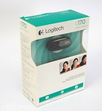 Brand new Logitech C170 Webcam with built-in microphone 5 mp photo web camera